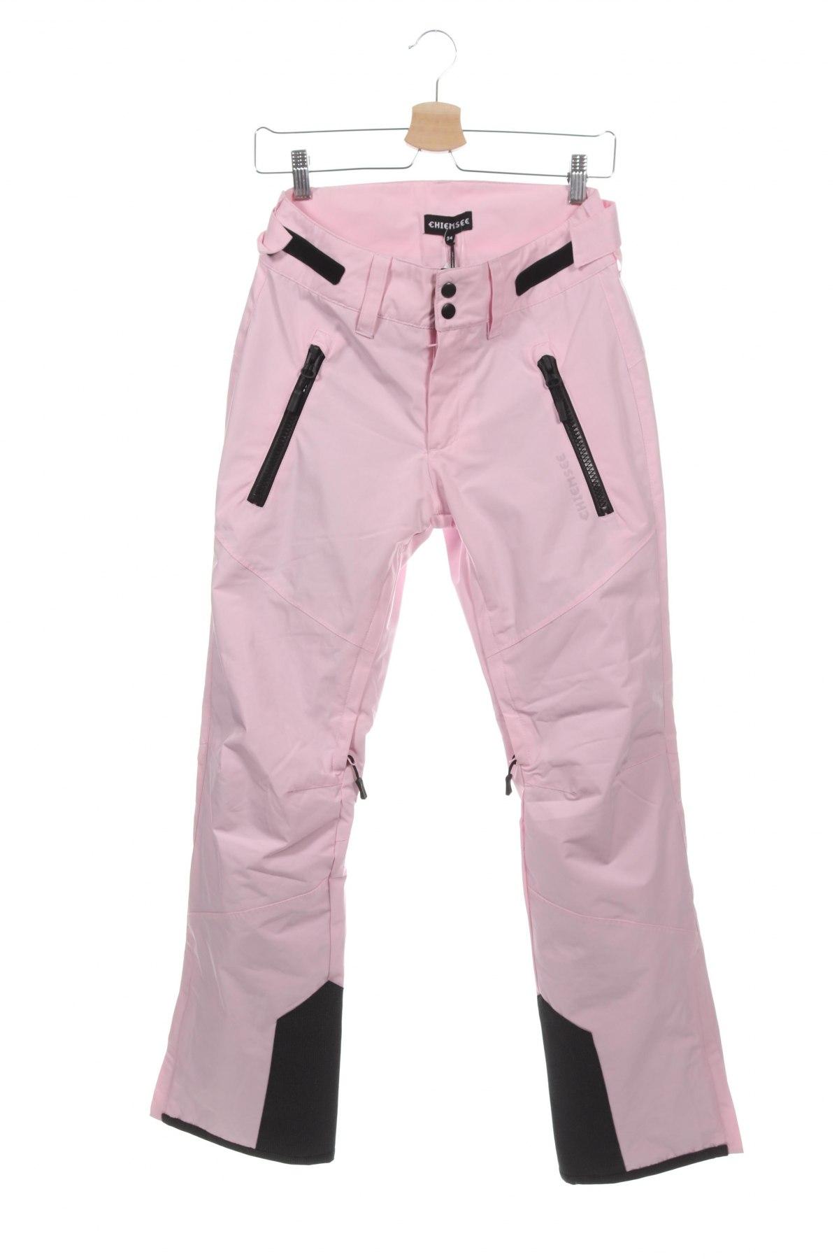 Дамски панталон за зимни спортове Chiemsee, Размер XS, Цвят Розов, Полиестер, Цена 98,55лв.