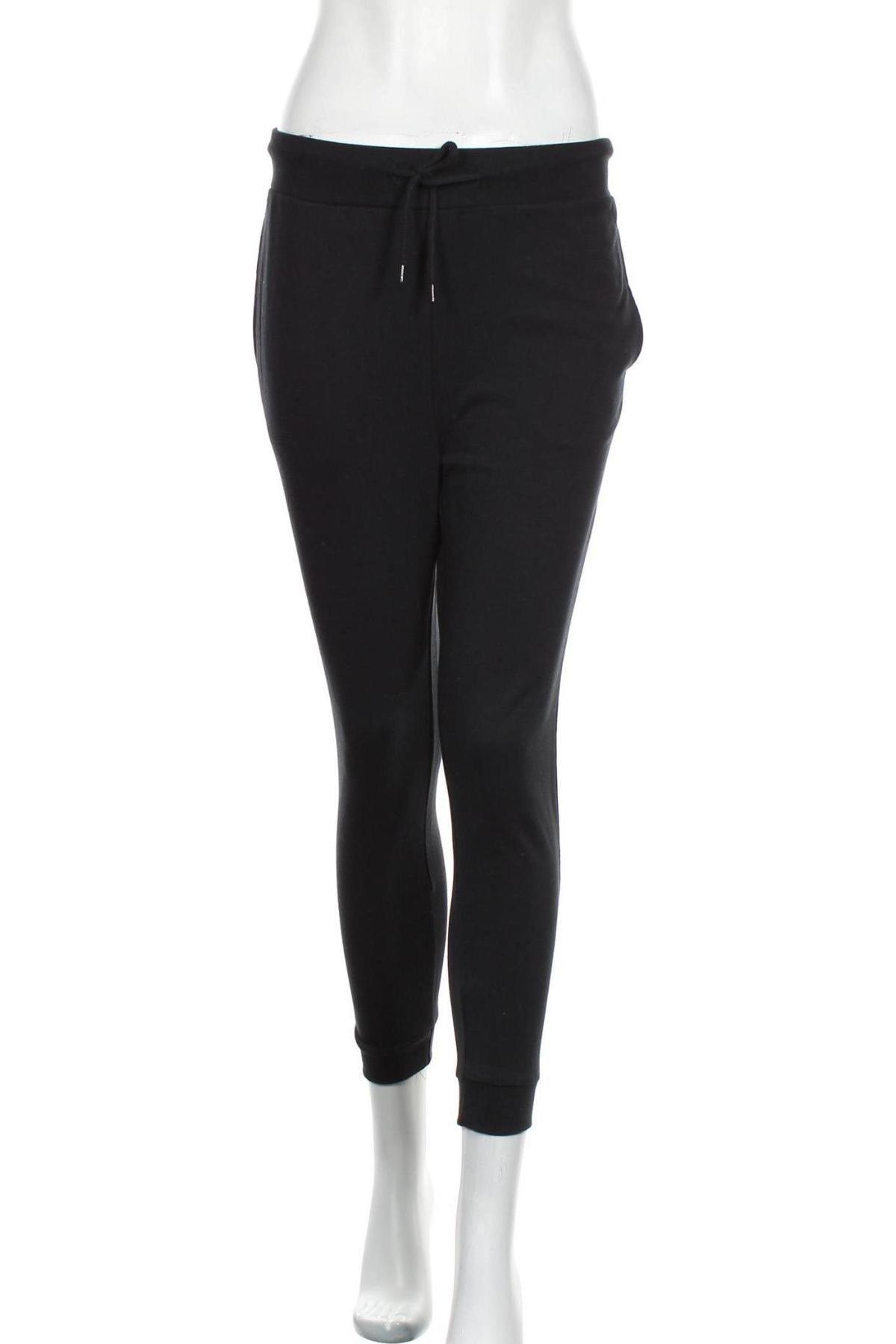 Дамско спортно долнище Even&Odd, Размер S, Цвят Черен, 60% памук, 40% полиестер, Цена 18,40лв.