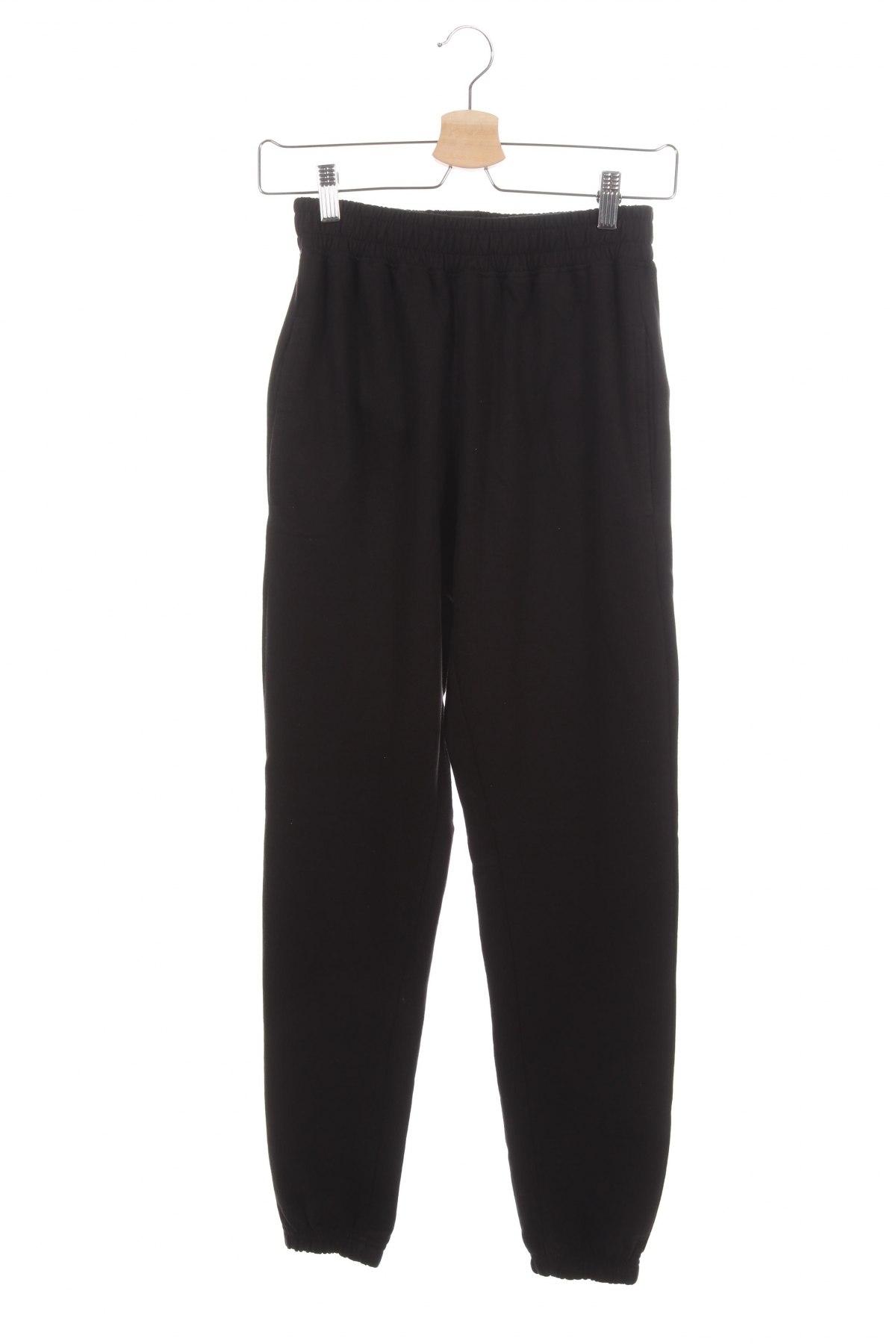 Дамско спортно долнище Missguided, Размер XS, Цвят Черен, 60% памук, 40% полиестер, Цена 18,48лв.