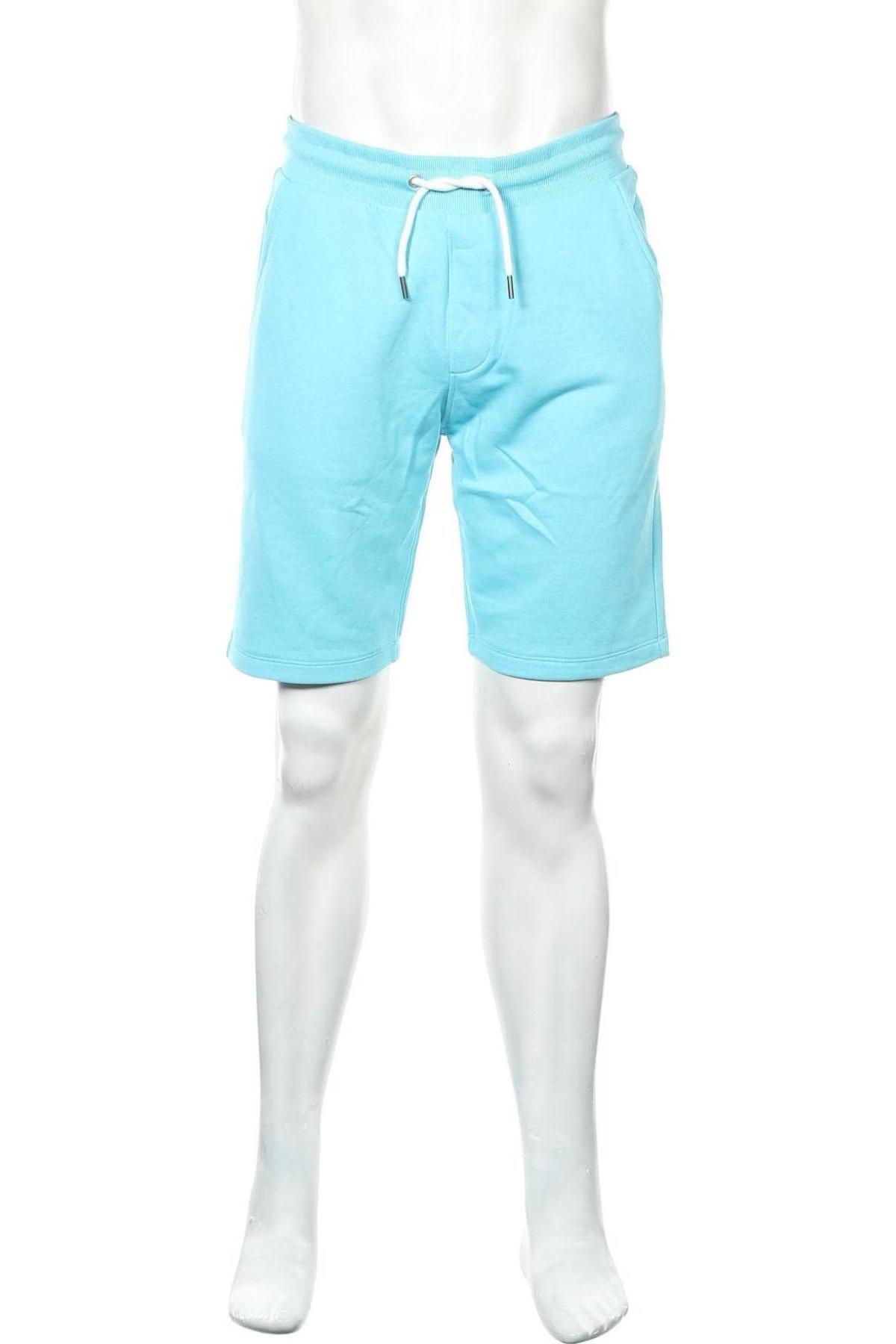 Мъжки къс панталон Edc By Esprit, Размер M, Цвят Син, 71% памук, 29% полиестер, Цена 39,00лв.