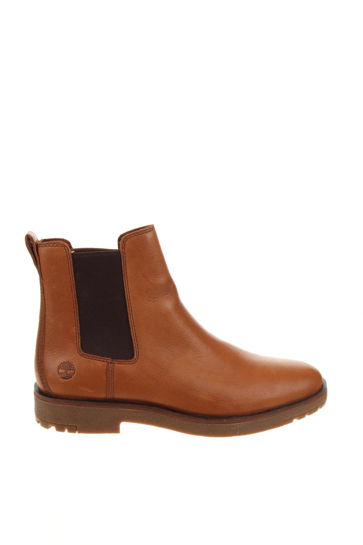 Мъжки обувки Timberland, Размер 45, Цвят Кафяв, Естествена кожа, Цена 289,00лв.