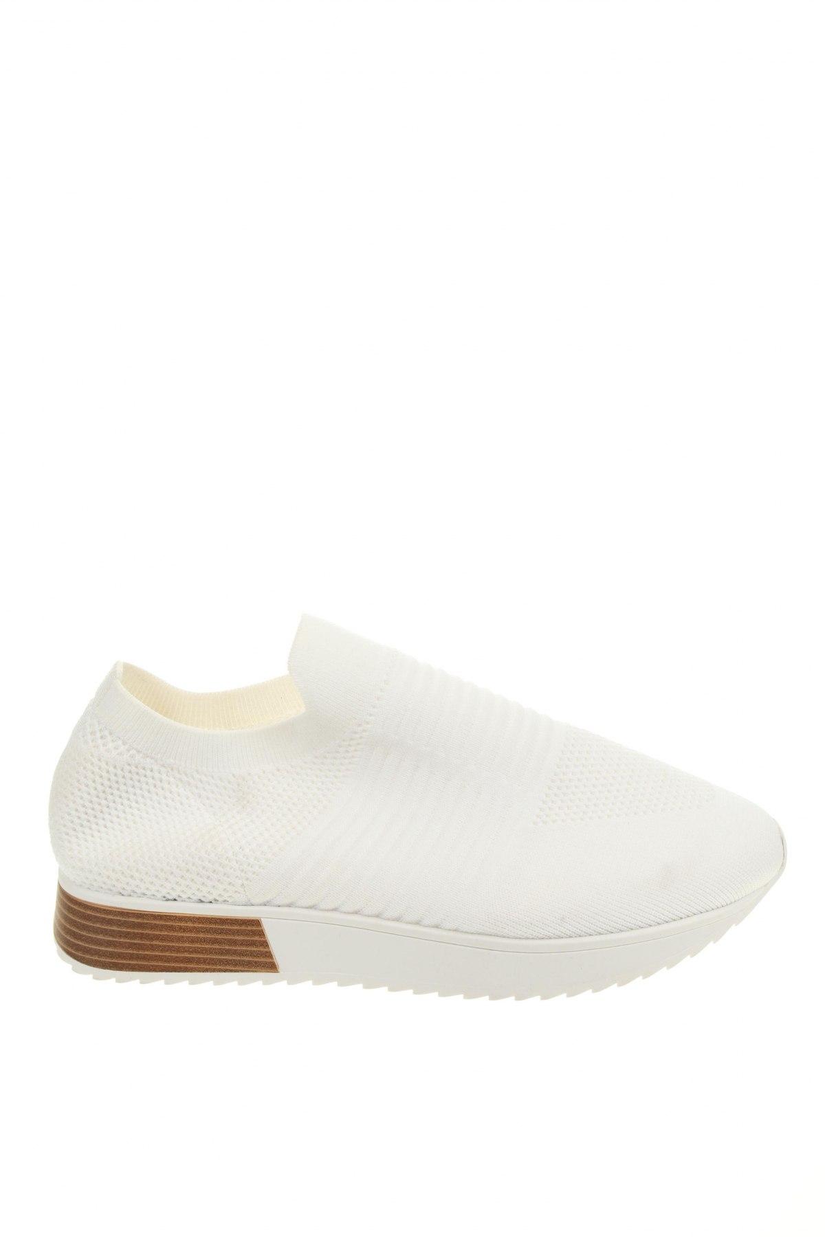 Обувки River Island, Размер 42, Цвят Бял, Текстил, Цена 58,50лв.