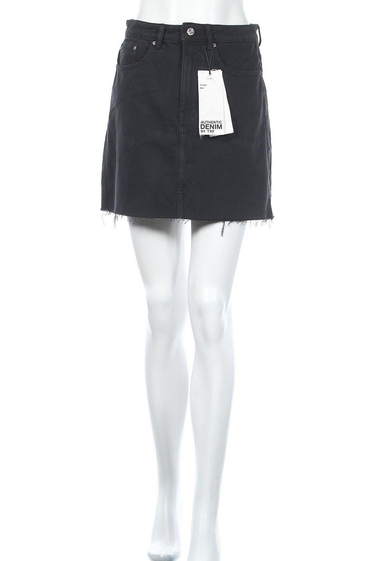 Φούστα Zara Trafaluc, Μέγεθος M, Χρώμα Μαύρο, Βαμβάκι, Τιμή 18,95€