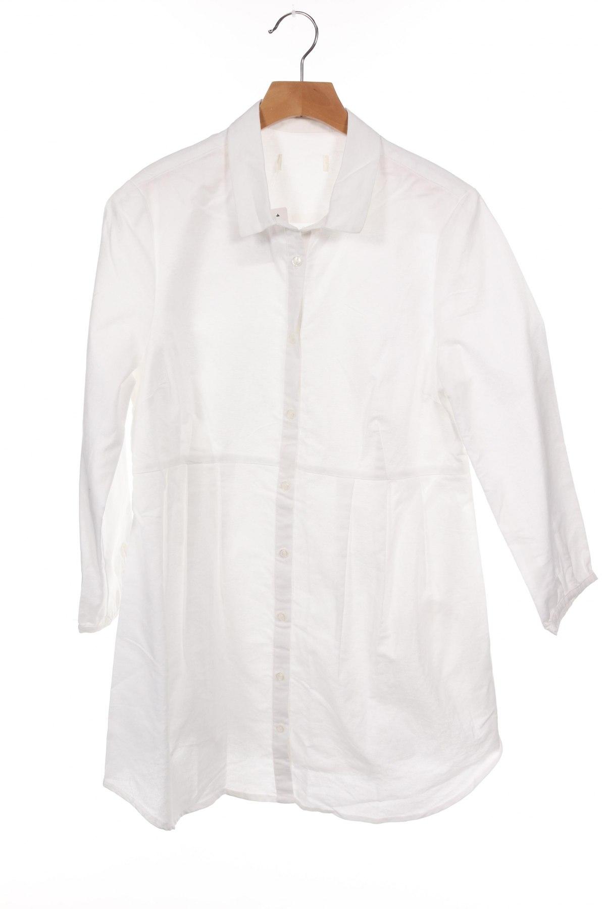 Риза за бременни, Размер XS, Цвят Бял, Цена 12,92лв.