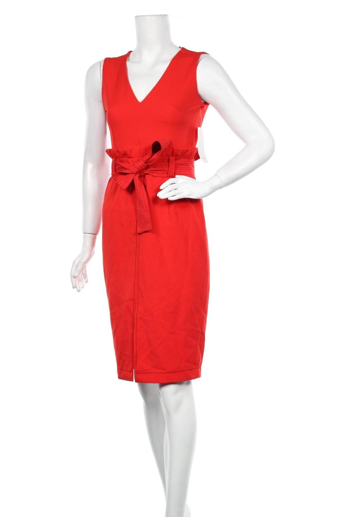 Φόρεμα Zara, Μέγεθος S, Χρώμα Κόκκινο, Πολυεστέρας, Τιμή 22,81€