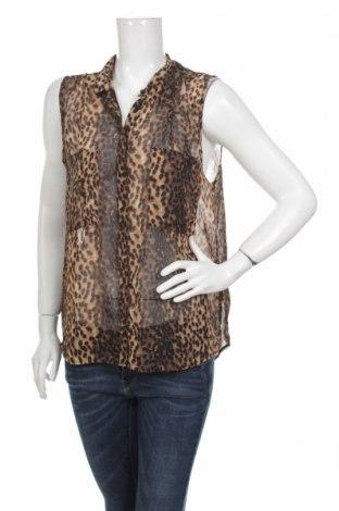 Дамска риза Bik Bok, Размер L, Цвят Бежов, 100% полиестер, Цена 4,25лв.