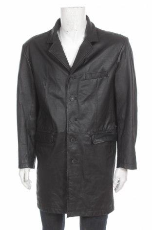 Męski płaszcz skórzany Clockhouse