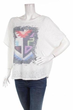 Γυναικεία μπλούζα Amanda, Μέγεθος L, Χρώμα Λευκό, Πολυεστέρας, Τιμή 12,66€
