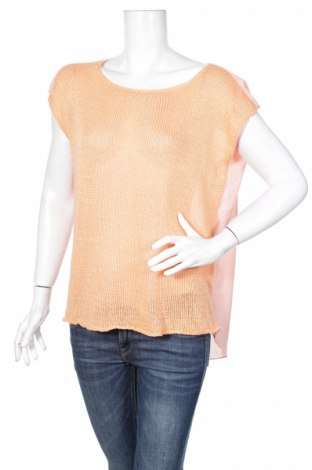 Дамска блуза Pronto, Размер L, Цвят Оранжев, 100% акрил, Цена 2,00лв.