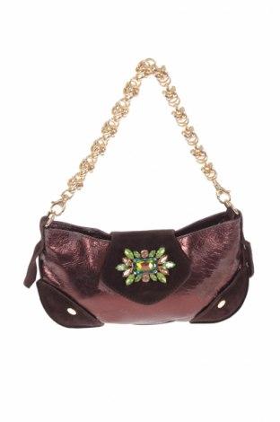 Дамска чанта Vic Matié, Цвят Кафяв, Естествена кожа, Цена 47,70лв.