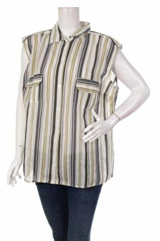 Γυναικείο πουκάμισο, Μέγεθος XXL, Χρώμα Πολύχρωμο, 77% πολυεστέρας, 23% βισκόζη, Τιμή 12,02€