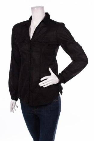 Γυναικείο πουκάμισο Amisu, Μέγεθος S, Χρώμα Μαύρο, Τιμή 19,79€