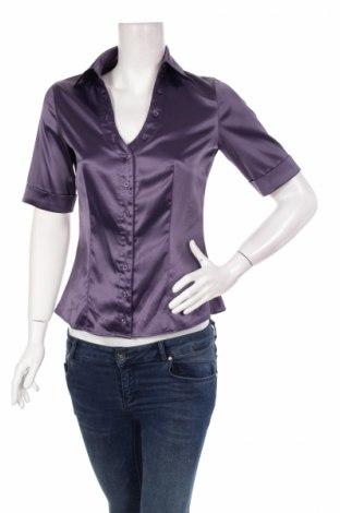 Γυναικείο πουκάμισο Camaieu, Μέγεθος M, Χρώμα Βιολετί, 96% πολυεστέρας, 4% ελαστάνη, Τιμή 12,37€