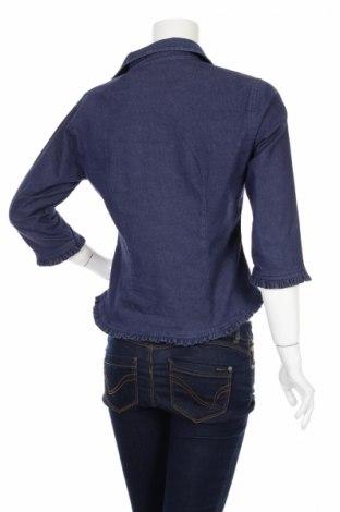 Γυναικείο πουκάμισο Connect, Μέγεθος M, Χρώμα Μπλέ, 75% βαμβάκι, 22% πολυαμίδη, 3% ελαστάνη, Τιμή 21,65€