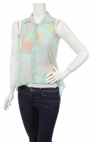 Γυναικείο πουκάμισο Factorie, Μέγεθος XS, Χρώμα Πολύχρωμο, 100% πολυεστέρας, Τιμή 2,97€