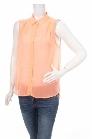 Дамска риза H&M, Размер S, Цвят Розов, Полиестер, Цена 4,75лв.