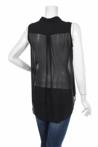 Γυναικείο πουκάμισο H&M, Μέγεθος M, Χρώμα Μαύρο, Τιμή 11,75€