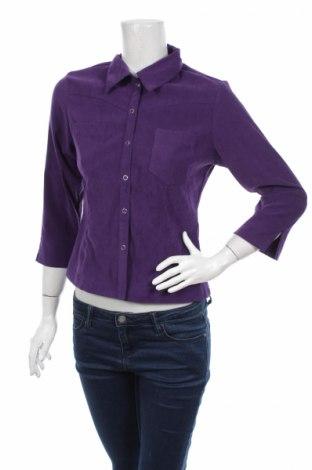 Γυναικείο πουκάμισο Industry, Μέγεθος M, Χρώμα Βιολετί, 97% πολυεστέρας, 3% ελαστάνη, Τιμή 14,95€