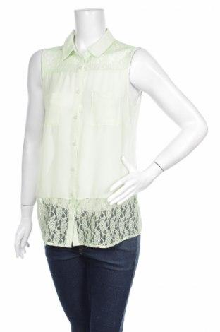 Γυναικείο πουκάμισο Laura Torelli, Μέγεθος M, Χρώμα Πράσινο, Τιμή 9,90€