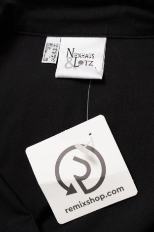 Γυναικείο πουκάμισο Neinhaus, Μέγεθος L, Χρώμα Μαύρο, 65% πολυεστέρας, 35% βαμβάκι, Τιμή 18,56€