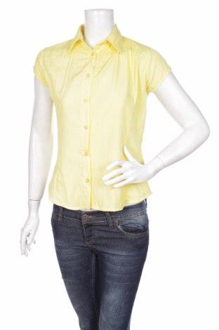 Γυναικείο πουκάμισο Okay, Μέγεθος XS, Χρώμα Κίτρινο, 100% πολυεστέρας, Τιμή 3,88€