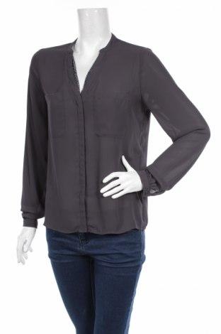 Γυναικείο πουκάμισο Promod, Μέγεθος M, Χρώμα Γκρί, Τιμή 22,68€