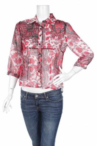Γυναικείο πουκάμισο R.Q.T, Μέγεθος S, Χρώμα Πολύχρωμο, Πολυεστέρας, Τιμή 17,32€