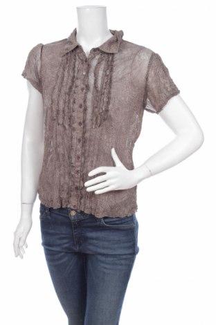 Γυναικείο πουκάμισο Street One, Μέγεθος S, Χρώμα  Μπέζ, Τιμή 9,28€