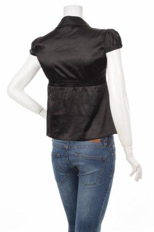 Γυναικείο πουκάμισο Tally Weijl, Μέγεθος S, Χρώμα Μαύρο, 97% πολυεστέρας, 3% ελαστάνη, Τιμή 11,13€