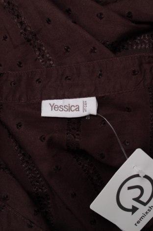 Γυναικείο πουκάμισο Yessica, Μέγεθος XL, Χρώμα Καφέ, 100% βαμβάκι, Τιμή 16,49€