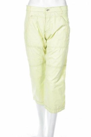 Дамски панталон Jeans spirit, Размер S, Цвят Зелен, Памук, Цена 6,40лв.
