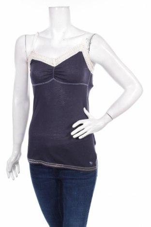 Dámske tielko  Abercrombie & Fitch, Veľkosť L, Farba Modrá, 60% bavlna, 40% polyester, Cena  3,75€