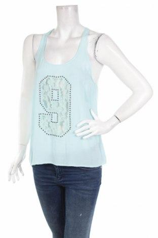 Γυναικείο αμάνικο μπλουζάκι America Today, Μέγεθος S, Χρώμα Μπλέ, Βισκόζη, Τιμή 2,98€