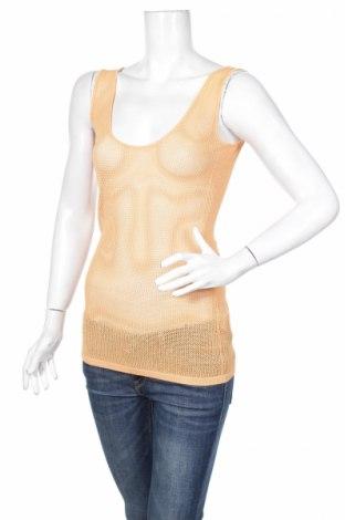 Γυναικείο αμάνικο μπλουζάκι Seduce, Μέγεθος M, Χρώμα Πορτοκαλί, 83% βισκόζη, 17% πολυαμίδη, Τιμή 4,46€
