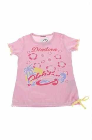 Detská blúzka  Diadora, Veľkosť 4-5y/ 110-116 cm, Farba Ružová, Bavlna, Cena  3,25€