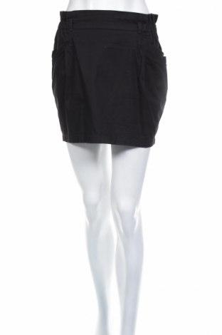Пола Bershka, Размер M, Цвят Черен, 100% памук, Цена 4,80лв.