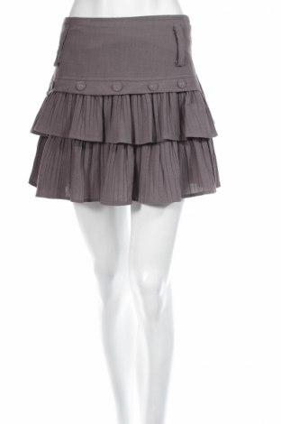 Φούστα Lulumary, Μέγεθος S, Χρώμα Γκρί, 70% βισκόζη, 30% πολυαμίδη, Τιμή 3,34€
