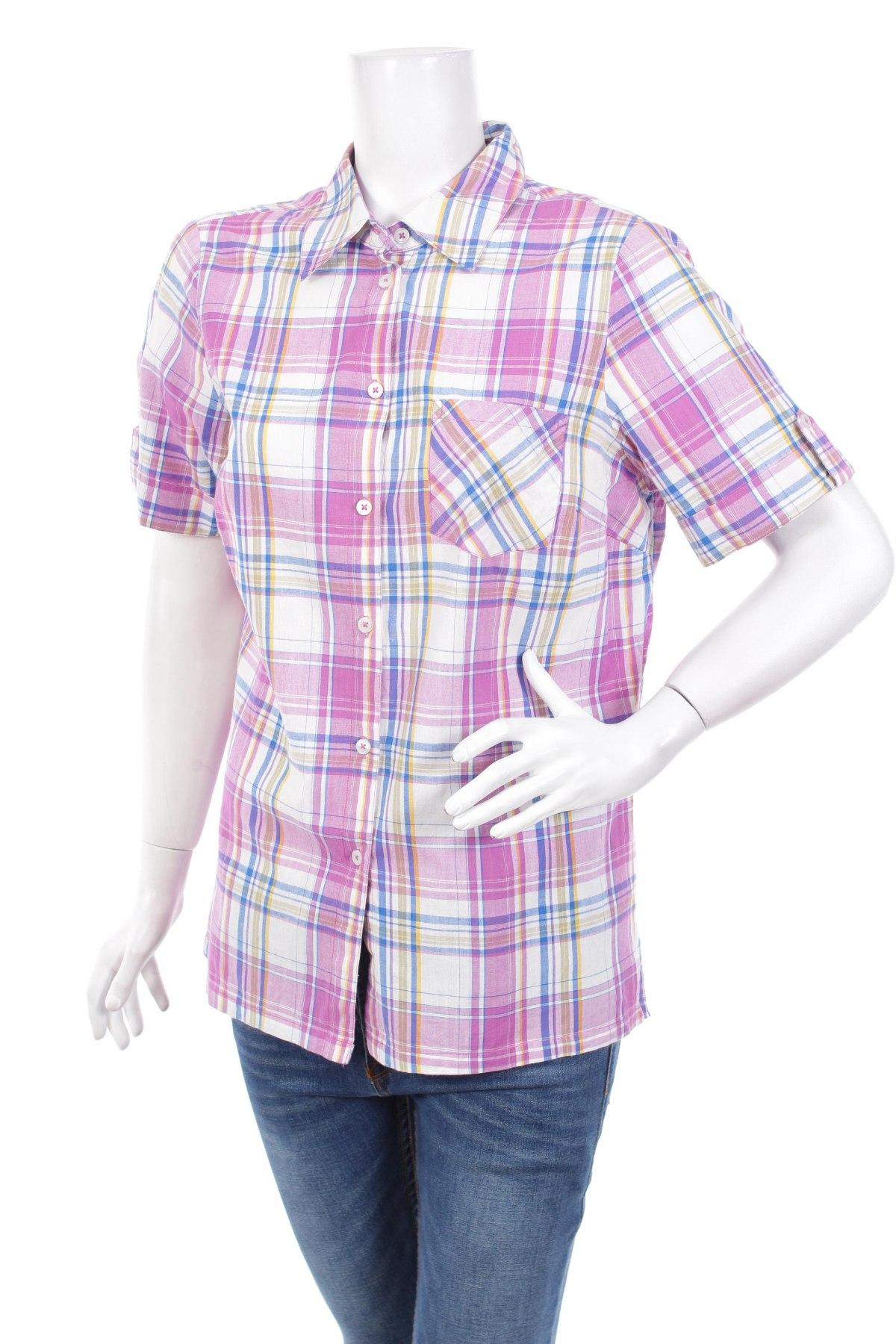 Γυναικείο πουκάμισο, Μέγεθος L, Χρώμα Πολύχρωμο, Βαμβάκι, Τιμή 11,13€