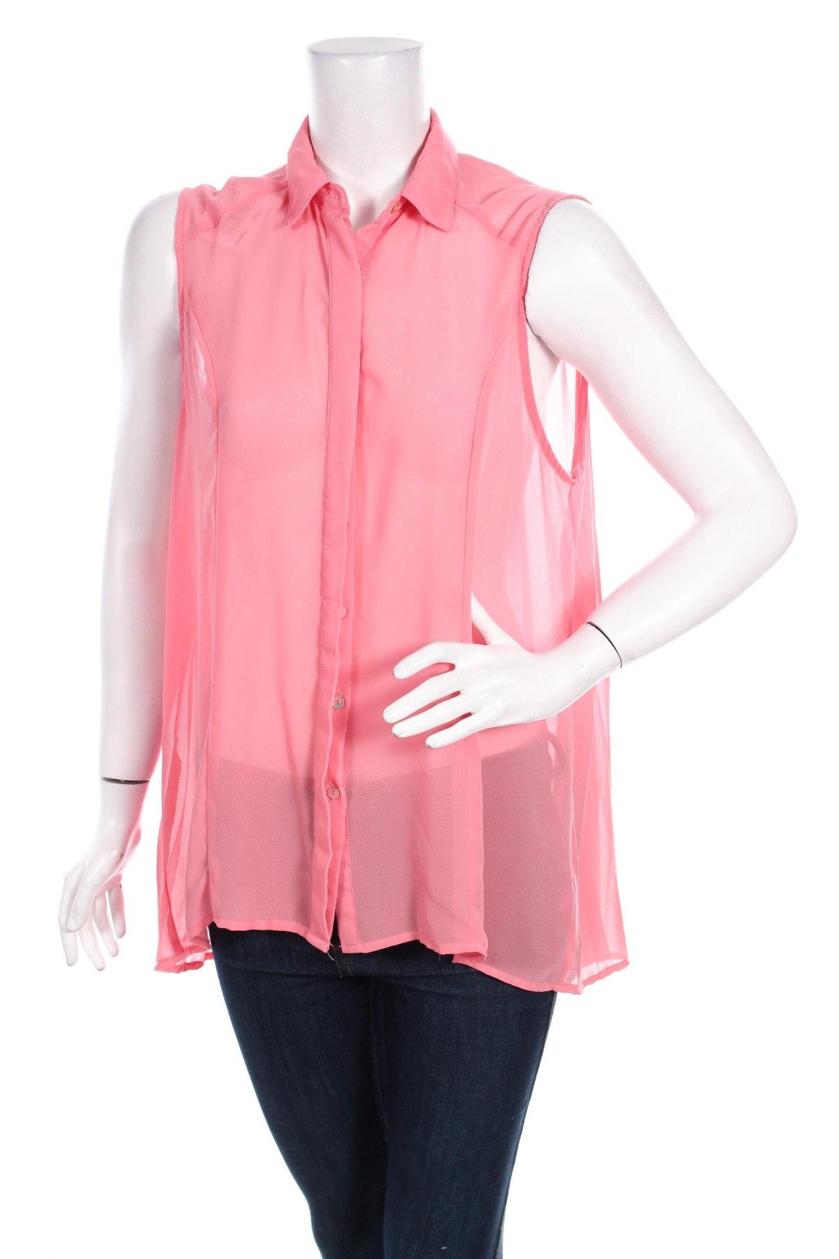 Γυναικείο πουκάμισο, Μέγεθος XL, Χρώμα Ρόζ , Τιμή 9,28€