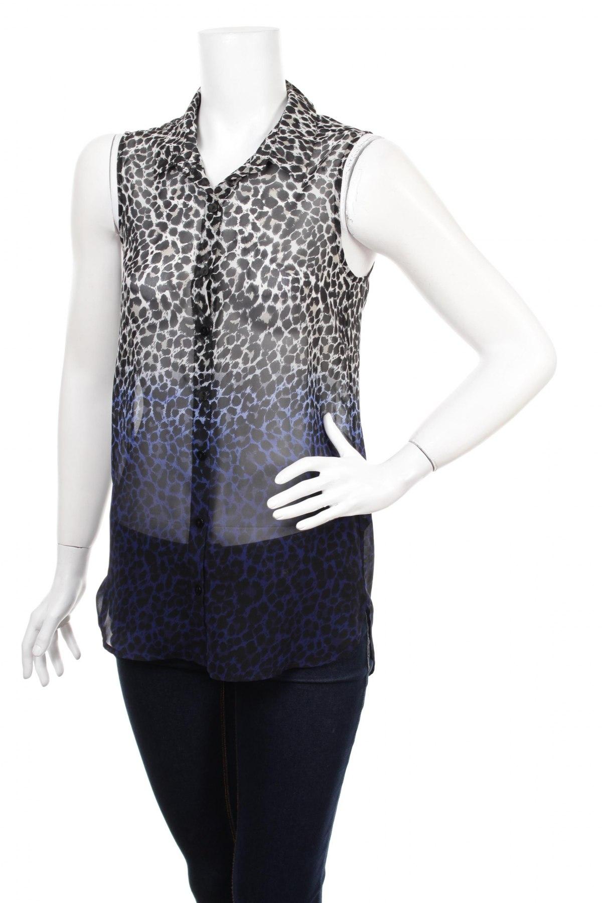 Γυναικείο πουκάμισο H&M Divided, Μέγεθος XS, Χρώμα Πολύχρωμο, Πολυεστέρας, Τιμή 15,08€