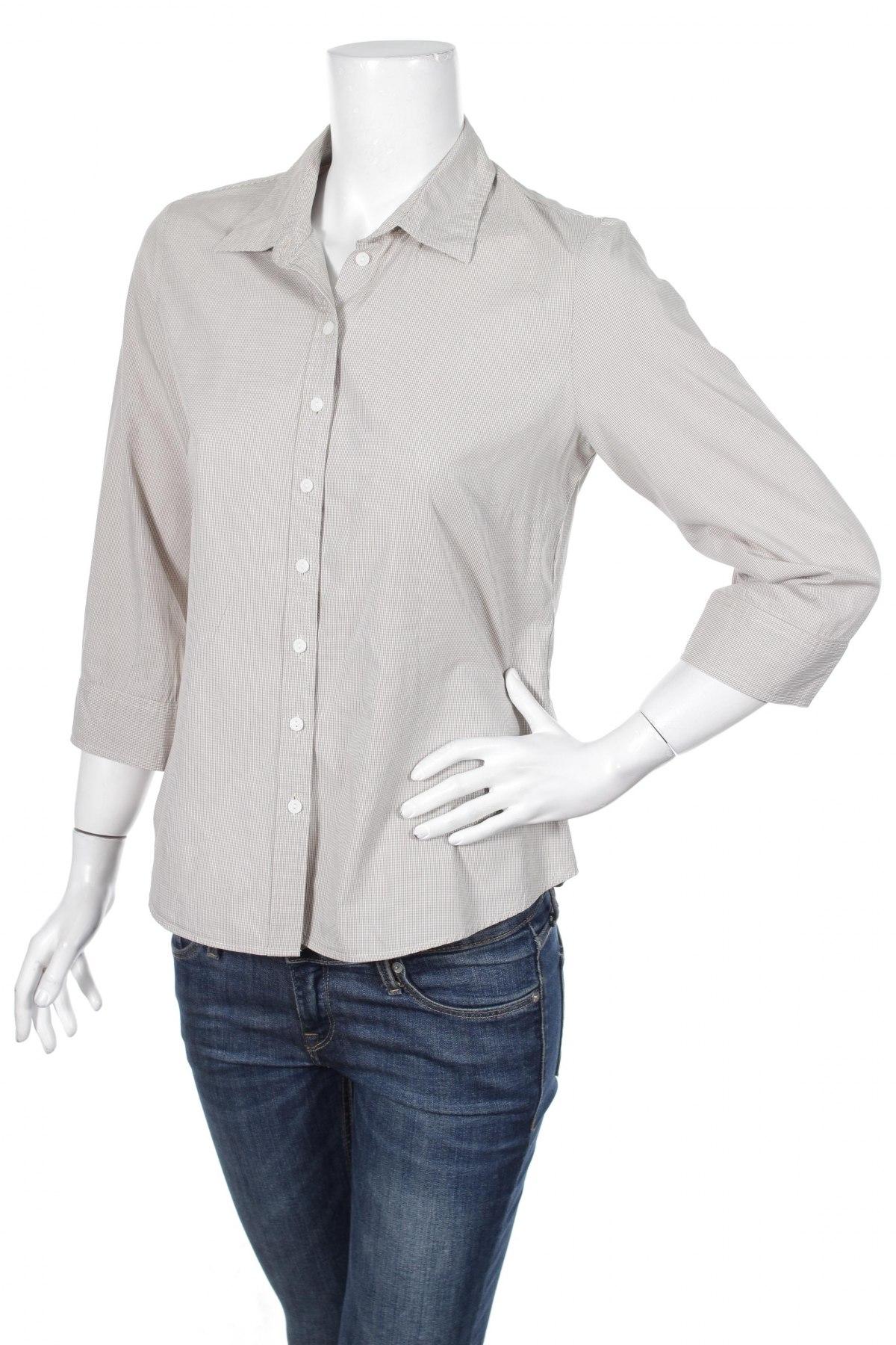 Γυναικείο πουκάμισο More & More, Μέγεθος M, Χρώμα  Μπέζ, 100% βαμβάκι, Τιμή 15,46€
