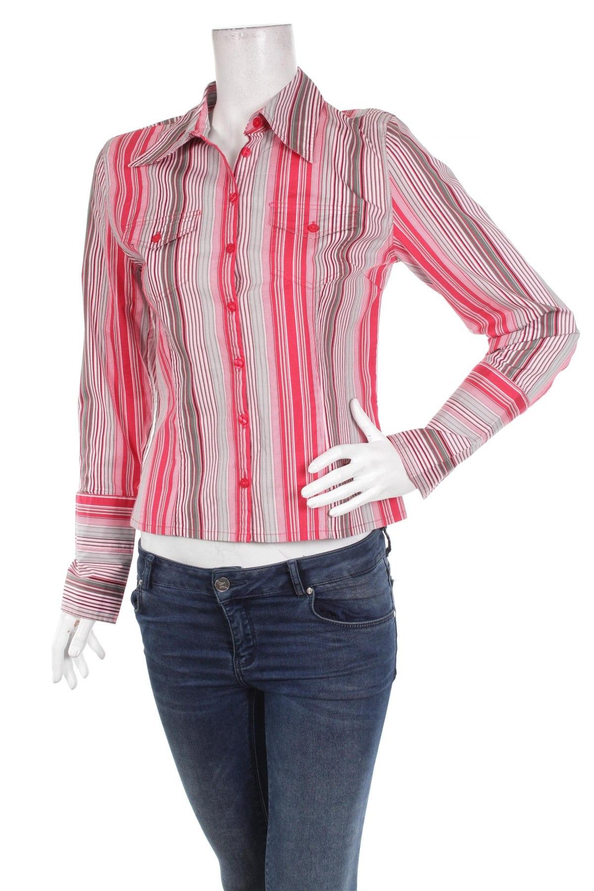 Γυναικείο πουκάμισο S.Oliver, Μέγεθος M, Χρώμα Πολύχρωμο, 95% βαμβάκι, 5% ελαστάνη, Τιμή 22,68€