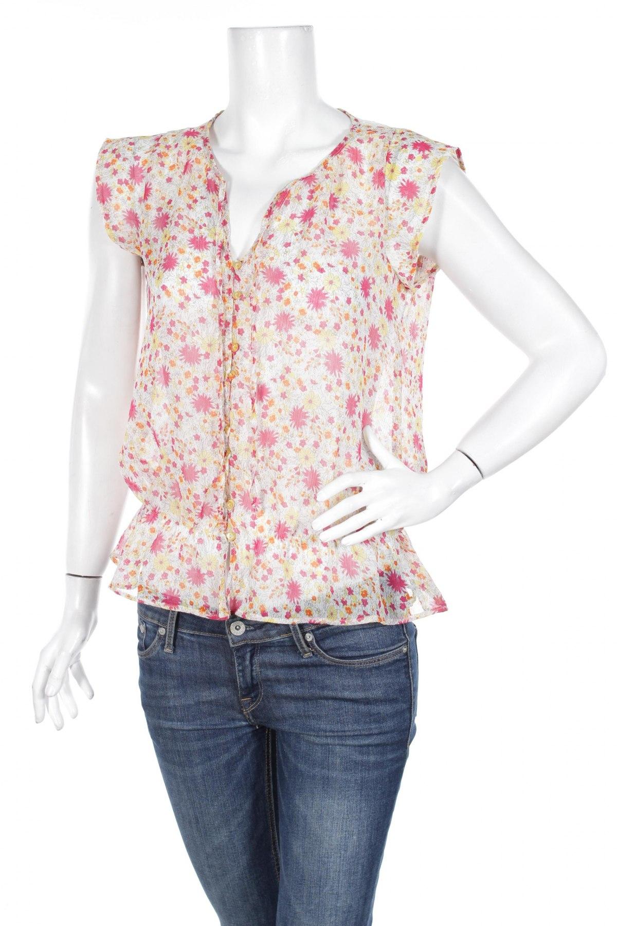 Γυναικείο πουκάμισο Zara Trafaluc, Μέγεθος M, Χρώμα Πολύχρωμο, 100% πολυεστέρας, Τιμή 14,85€