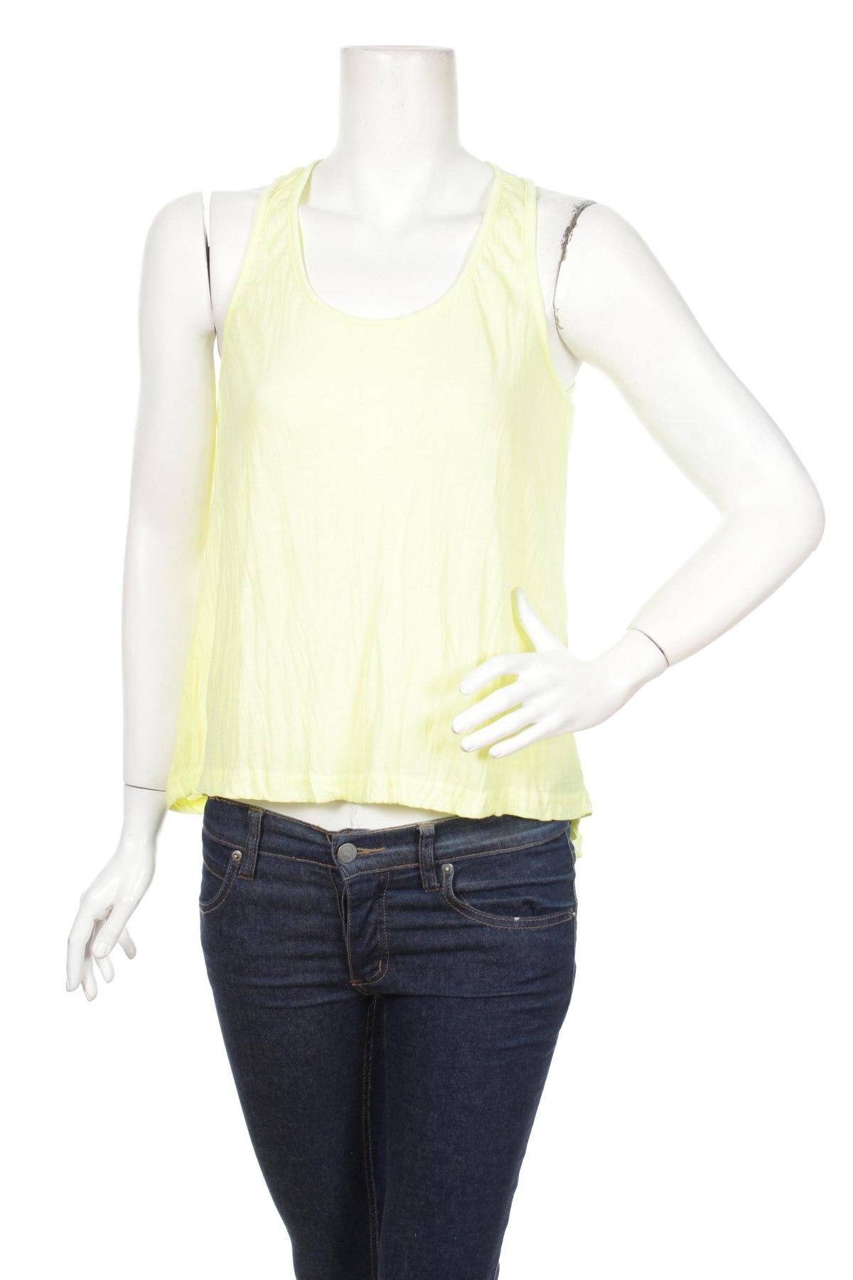Dámske tielko  Agathe Velmont, Veľkosť S, Farba Žltá, 100% polyester, Cena  13,04€