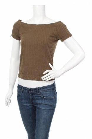 Дамска блуза Ambiance, Размер L, Цвят Зелен, 95% вискоза, 5% еластан, Цена 3,06лв.