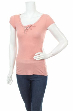 Дамска блуза Ambiance, Размер S, Цвят Розов, 95% вискоза, 5% еластан, Цена 3,04лв.