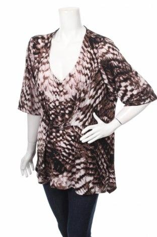 Дамска блуза Beme, Размер M, Цвят Многоцветен, 95% полиестер, 5% еластан, Цена 5,25лв.