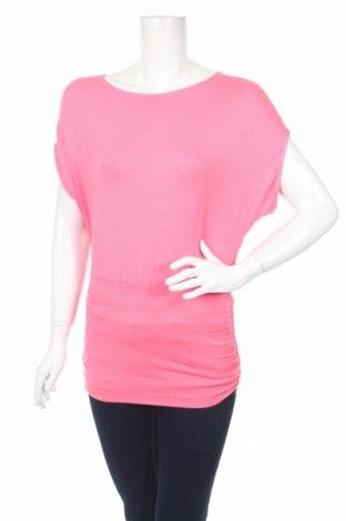Дамска блуза Express, Размер XS, Цвят Розов, 95% вискоза, 5% еластан, Цена 15,00лв.