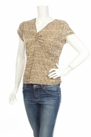 Дамска блуза Jones Wear, Размер M, Цвят Бежов, 100% полиамид, Цена 6,00лв.