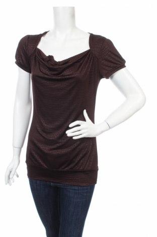 Дамска блуза Maurices, Размер M, Цвят Кафяв, 95% полиестер, 5% еластан, Цена 4,50лв.